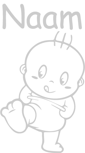 Geboortesticker Wandelende baby