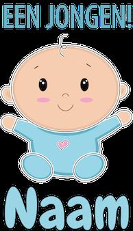 Baby een jongen